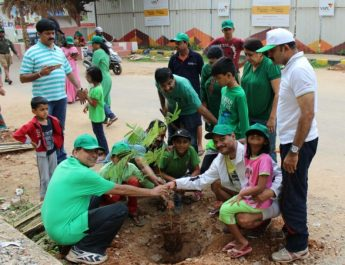 Yeshwanthpur residents celebrate World Environment Day today by planting trees