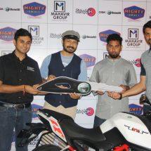 SMAAASH honours Benelli Challenge Winner