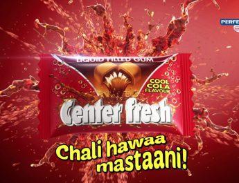 Center fresh Cool Cola Packshot - 1