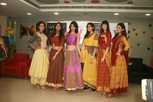 Dresses designed by Virtual Voyage College of Design - Media and management 2