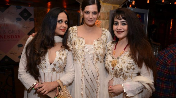 Entrepreneur Ratika Seth - Model Bhavna Singh Atwal and Designer Shalini Chauhan