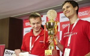 Global Winners - Borys Minaiev and Gennady Korotkevich