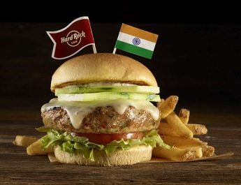 HRC Mumbai Tandoori chicken burger