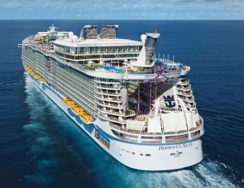 Harmony of the Seas - View 3 - Rear - Aerial