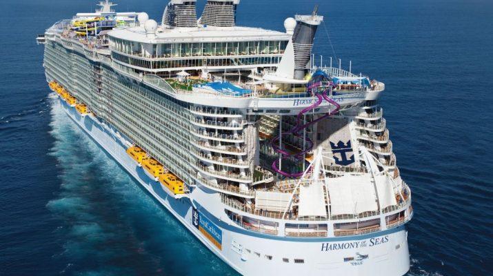 Harmony of the Seas - View 3 - Rear - Aerial