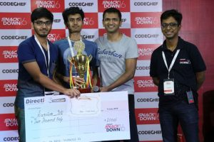 Indian Winners - Aditya Shah and Utkarsh Saxena