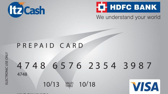 ItzCash-HDFC-Prepaid-Card