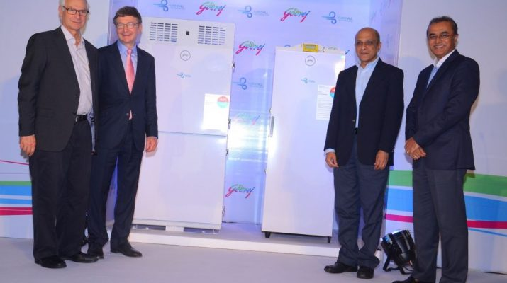 Jamshyd Godrej - Peter Saunders - Anil Verma and Mr Kamal Nandi
