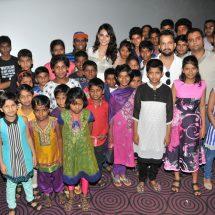 Mandana Karimi Celebrates Eid with kids at a screening of Sultan