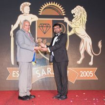 Navrattan Kothari – Chairman, KGK Group receives The Excellence Award 2016
