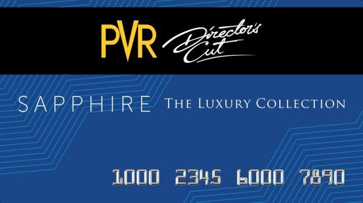 PVR Directors Cut - Sapphire Card