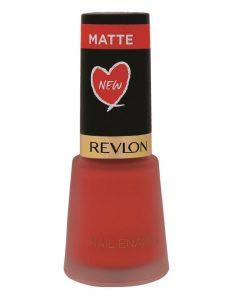 Revlon Nail Enamel in Coral Matte - MRP 190