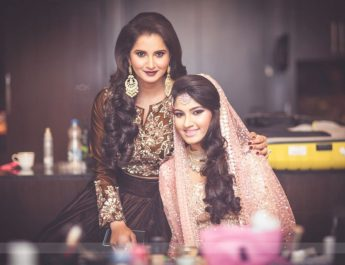 Sania and Anam Mirza