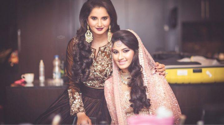Sania and Anam Mirza