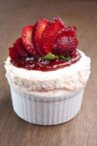 Strawberry Souffle