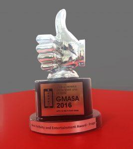 The GMASA Award Given to Frogo
