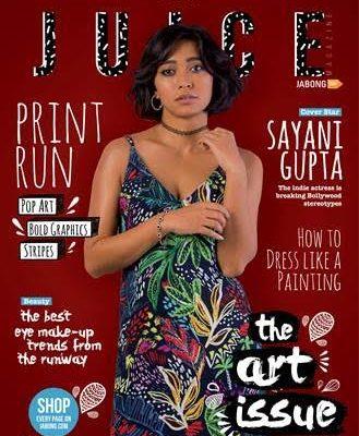 Sayani Gupta - The Juice Magazine - July - Jabong