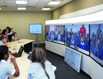 UAE - Kenya Students - Tele Presence - Cisco