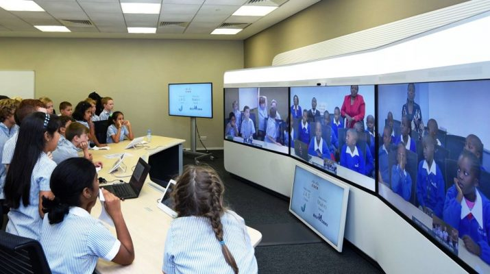 UAE - Kenya Students - Tele Presence - Cisco