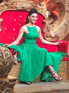 Urvashi in INTOTO shoes