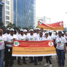 Mylan leads Hepatitis Awareness March on World Hepatitis Day