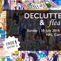 Yappily brings to you 'De-Clutter Sale and Flea Market on 10th July 2016
