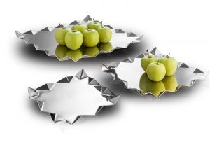 Criss Cross Platters from Arttdinox small is for Rs 1250 and M is for 1550 a Large is for 2100