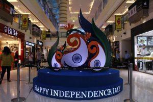 DLF Saket - Independence Day 1