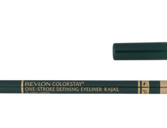 Revlon ColorStay One-Stroke Defining Eyeliner Kajal in Glazed Green