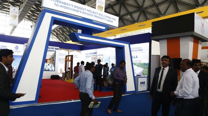 Stall at CREDAI Hyderabad Property Show