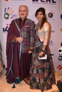 Actor Anupam Kher and Founder Lakshyam Raashi Anand