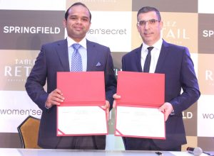 Adeeb Ahamed - Managing Director - Tablez and Antonis Kyprianou - Group Franchis GM - Grupo Cortefiel