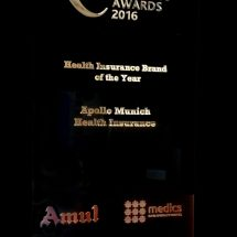 Apollo Munich Health Insurance picks up 'Best Health Insurance Company' at the India Health and Wellness Summit and Awards 2016