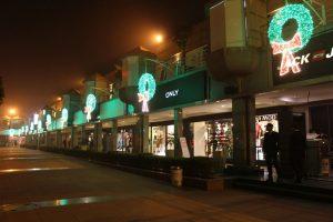 Christmas celebrations at DLF Place - Saket