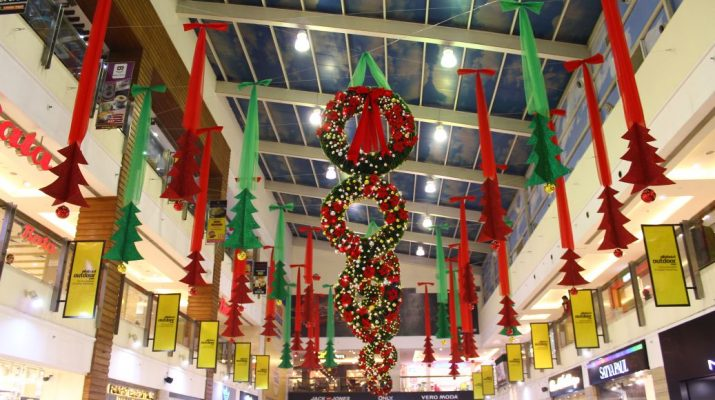 Christmas celebrations at DLF Place - Saket