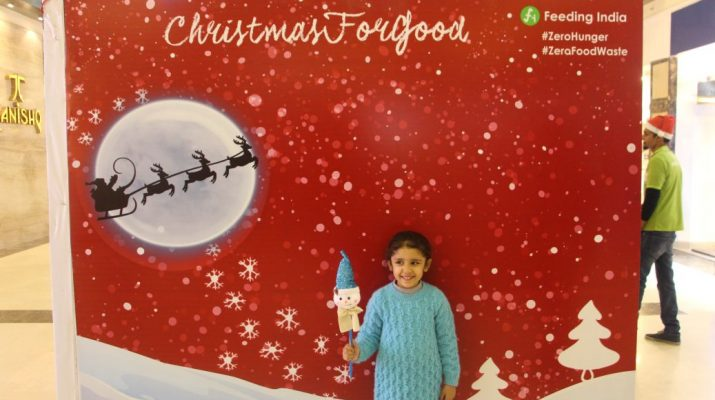 DLF Place - Saket organises Christmas for Good in association with Feeding India