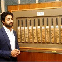 Digvijay Sinh Kathiwada launches his inaugural auction featuring sports memorabilia for Kathiwada Arts and Sports