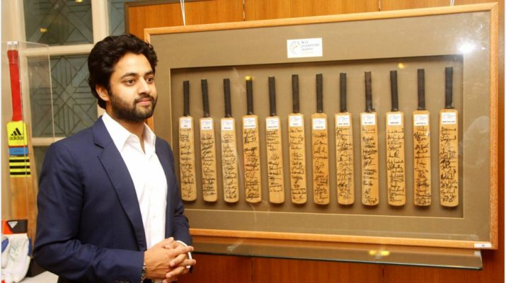 Digvijay Sinh Kathiwada launches his inaugural auction featuring sports memorabilia for Kathiwada Arts and Sports