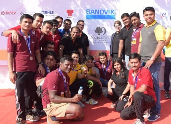 DoubleTree by Hilton Pune footholds at Runathon of Hope 2016-17 - 1