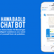 Hawa Badlo a Facebook Messenger BOT