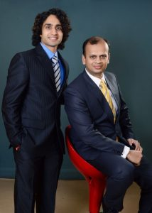 L-R - Parth Nyati -Co-Founder and COO - Amit Gupta - Co -Founder and CEO Trading Bells