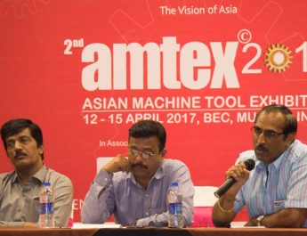 L to R Nitin Bankar - Former President - PCSIA Sandeep Belsare - President and Sanjay Vavale - Treasurer