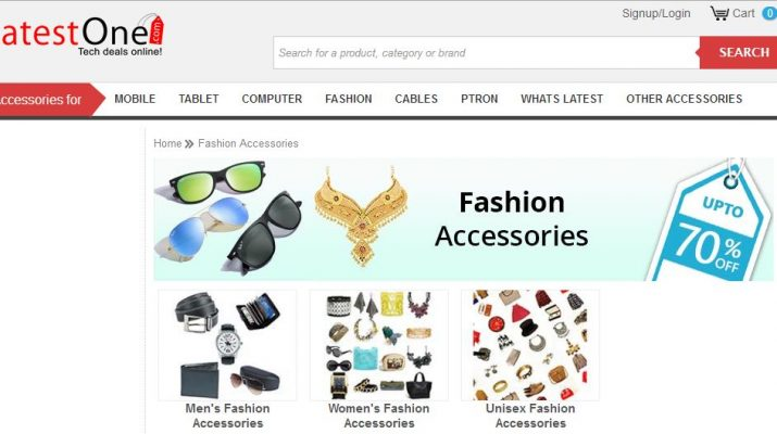 LatestOne.com forays into fashion accessories segment