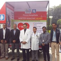 Paras Hospitals, Gurgaon bring doctors to your doorstep with new Mobile Van