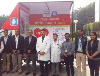 Paras Hospitals - Gurgaon bring doctors to your doorstep with new Mobile Van