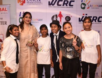 Poonam Anand with Lakshyam Kids