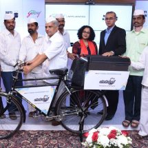 Godrej Appliances and the Mumbai Dabbawala Association take a step towards #UnHungryIndia