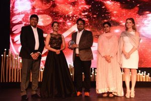 Amit Agrawal - Founder And Chairman – Times And Trends Academy Bestowed With Concept Of The Year Award At Franchise India Meet