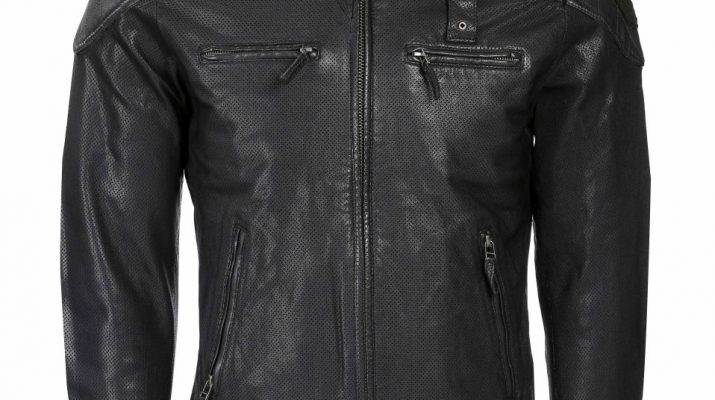 Men Leather Jackets from Woodland