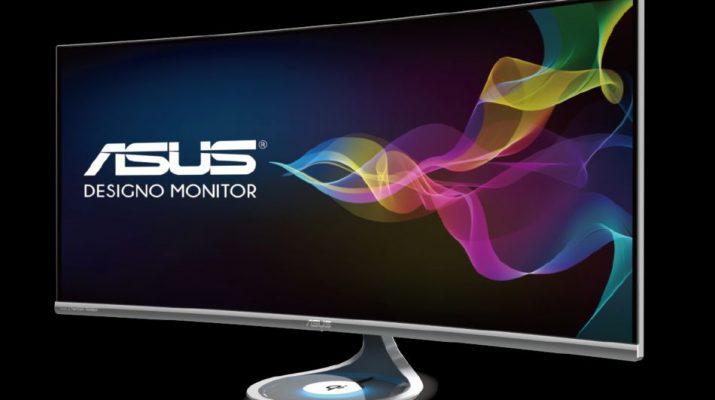 ASUS Designo Curve MX38VQ Monitor